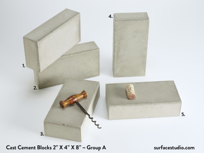 Cast Cement Blocks Group A (5)