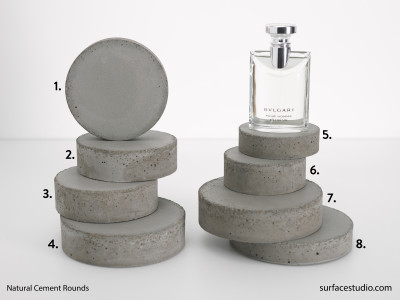 Natural Cement Rounds (8) $35 each