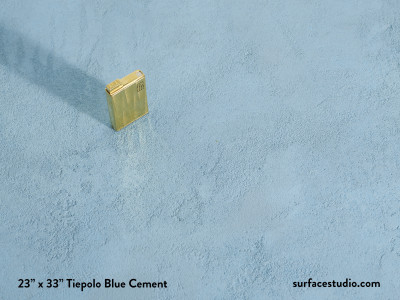 TiePolo Blue Cement