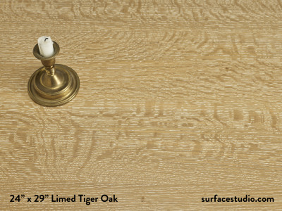 Limed Tiger Oak
