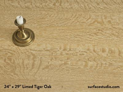 Limed Tiger Oak