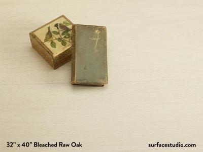 Bleached Raw Oak