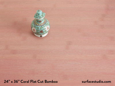 Coral Bamboo Flat Cut