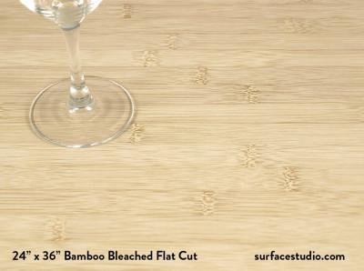 Bamboo Bleached Flat Cut