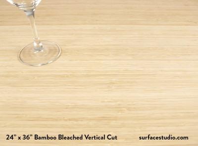 Bamboo Bleached Vertical Cut