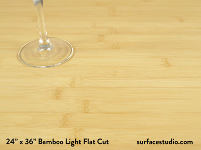 Bamboo Light Flat Cut