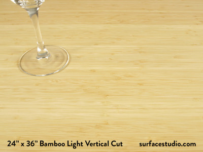 Bamboo Light Vertical Cut