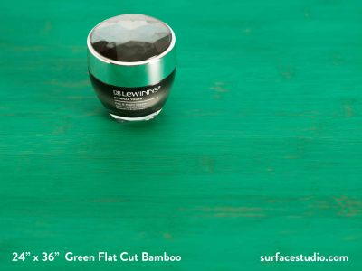 Green Flat Cut Bamboo