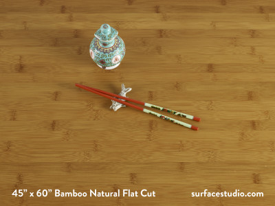 Bamboo Natural Flat Cut