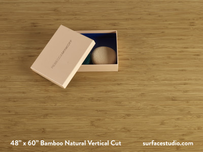 Bamboo Natural Vertical Cut