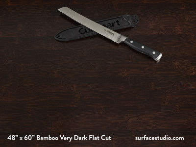 Bamboo Very Dark Flat Cut