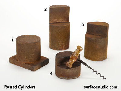 Rusted Cylinders (4) $30 Each