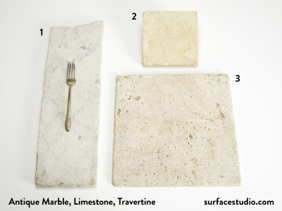 Antique Marble, Limestone, Travertine (3) $30 - $40