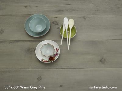 """Warm Grey Pine (10 ½"""" Planks)"""