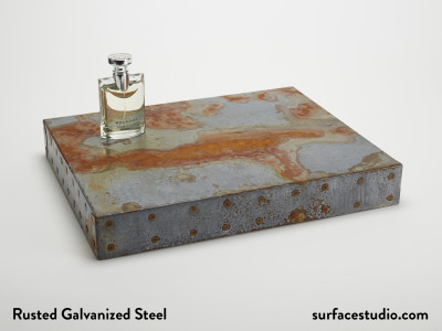 Rusted Galvanized Steel