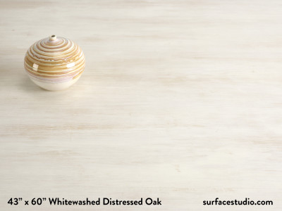 Whitewashed Distressed Oak (40 lbs)