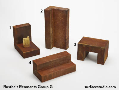 Rustbelt Remnants Group G  (4) Each $40