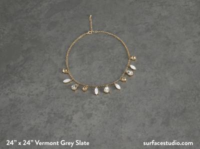 Vermont Grey Slate (55 lbs)
