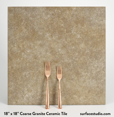 Coarse Granite Ceramic Tile (10 LBS)