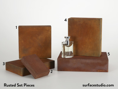 Rusted Set Pieces (5)