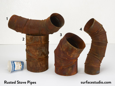 Rusted Stove Pipes (4) $35 Each