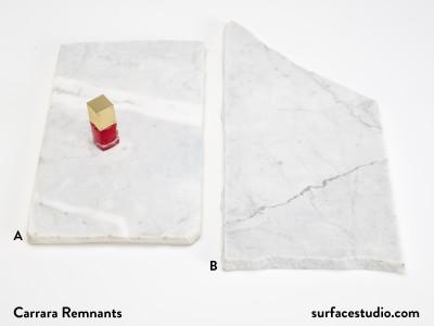 Carrara Remnants - $35 each