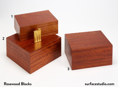 Rosewood Blocks (3) $50 each