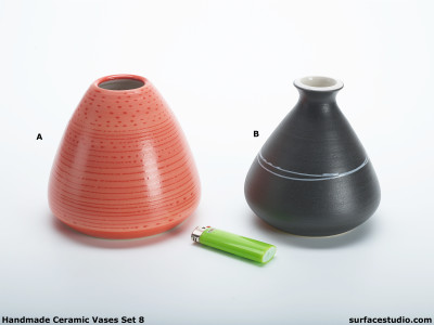 Ceramic Vases Set 8 (2) Each $20