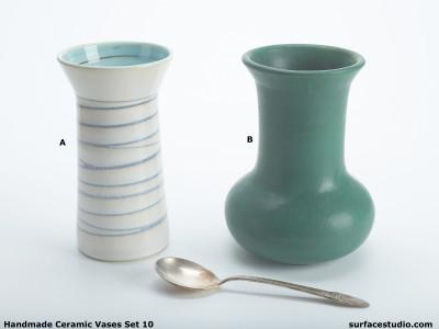 Ceramic Vases Set 10 (2) Each $30