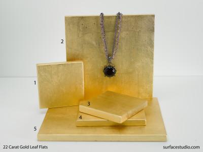 22 Carat Gold Leaf Flats (5) $30 - $50