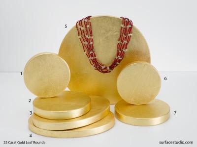 22 Carat Gold Leaf Rounds (7) $30 - $45
