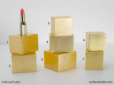 Gold Leaf Cubes $25 each