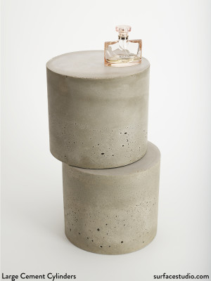 Large Cement Cylinders (2) $90 Each