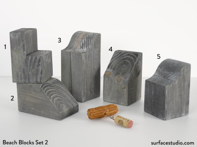 Beach Blocks Set 2 (5) $40 Each