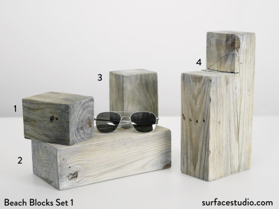 Beach Blocks Set 1 (4) $30 - $45