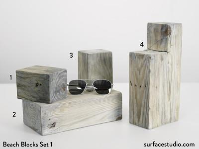Beach Blocks Set 1 (4) $30 - $45