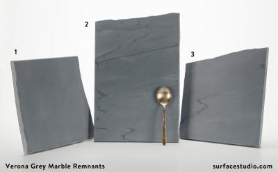 Verona Grey Marble Remnants (3) $45 - $55
