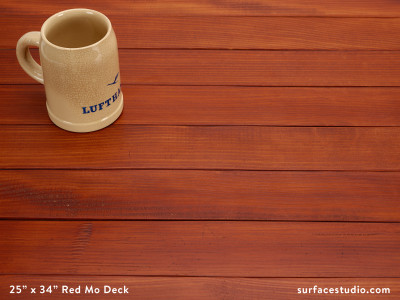 """Red Mo Deck (2 ¾"""" Planks)"""