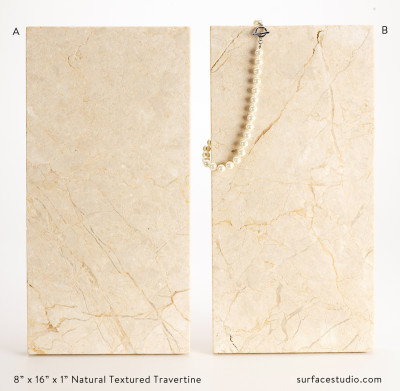 Natural Textured Travertine (2) $40 each