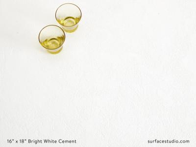 Bright White Cement