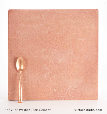 Washed Pink Cement