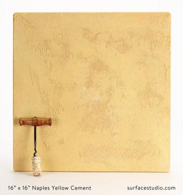 Naples Yellow Cement