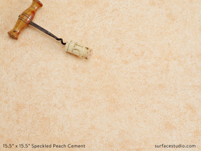 Speckled Peach Cement