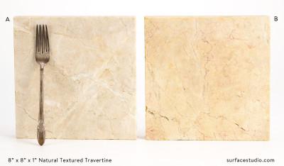 Natural Textured Travertine (2) $30 each