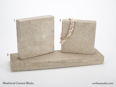 Weathered Cement Blocks (3) $55 and $75