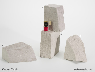 Cement Chunks (4) $45 each