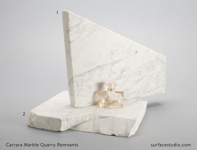 Carrara Marble Quarry Remnants (2)  $50 each  (25 Lbs a piece)