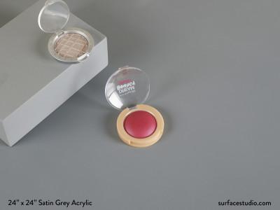 Satin Grey Acrylic