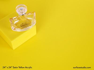 Satin Yellow Acrylic