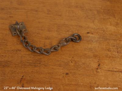 Distressed Mahogany Ledge